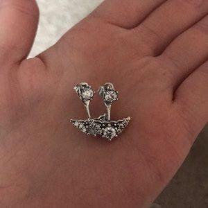 Pandora earrings!
